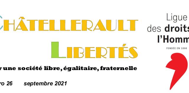 Bulletin de la Ligue des Droits de l'Homme de Châtellerault