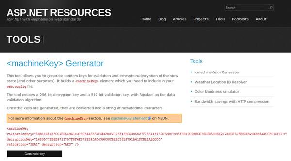 generador-claves-machinekey-asp-net