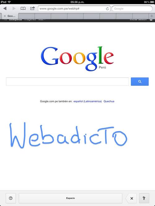 google-busquedas-texto-manuscrito