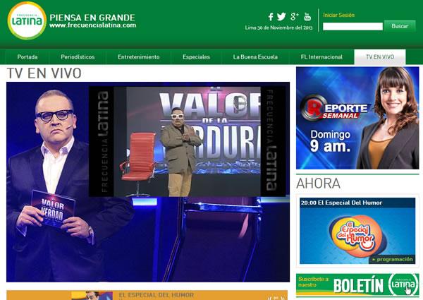 frecuencia latina canal 2 en vivo peru