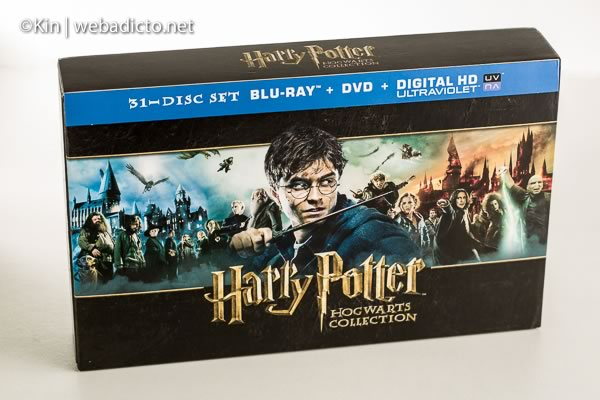review bluray harry potter hogwarts collection-7462