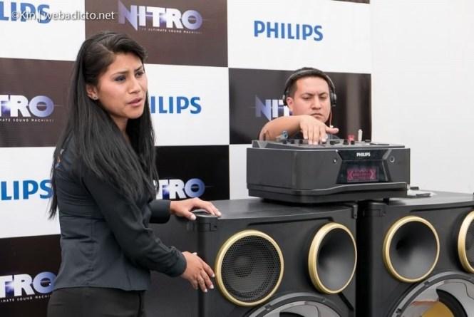 equipo de sonido philips nitro nx9