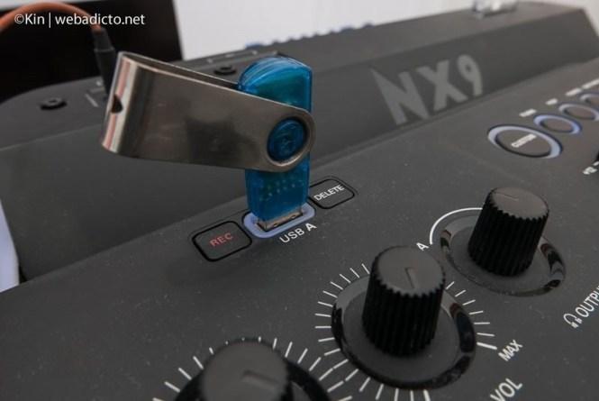 equipo de sonido philips nitro nx9 - usb
