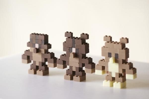 lego chocolate funcionales y comestibles - 04