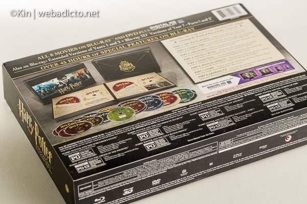 review bluray harry potter hogwarts collection-7468