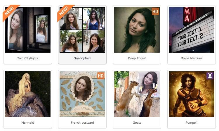 Crea fotomontajes divertidos en Photofunia desde tu computadora o celular - fotomontajes-photofunia