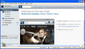 Descargar musica y peliculas con Vuze