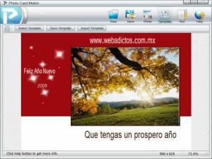 Tarjetas de felicitacion, crealas con PhotoCard Maker