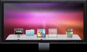 Organizar iconos con Xwindows Dock