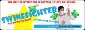 Influenza porcina, Juego online