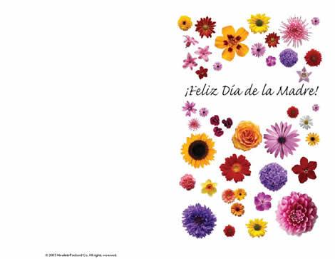 Tarjeta Del Dia De La Madre Para Imprimir Y Mas En Hp