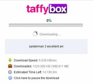 Descargar torrents legales con TaffyBox
