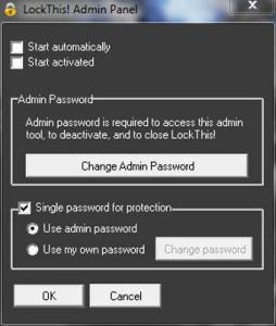 Proteger programas y documentos con password gracias a LockThis!