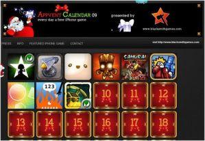 Juegos iphone gratis en Diciembre, AppVentCalendar