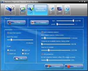 Optimizar memoria con Memory Improve Master