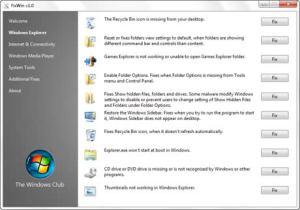 Reparar problemas de windows con FixWin