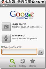 Google Shopper, un nuevo servicio de Google