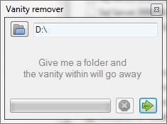 Eliminar carpetas vacias con Vanity Remover