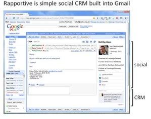 Convierte en CRM tu gmail con Rapportive