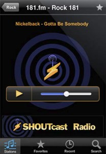 Escuchar radio en iPhone con ShoutCast