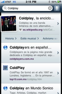 Yahoo! Search, busca en yahoo desde tu iPhone