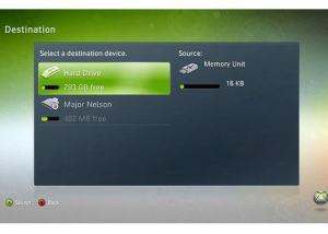 Disponible actualización de Xbox 360 para el soporte de las memorias USB