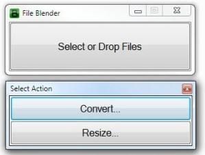 File Blender un conversor de archivos gratuito