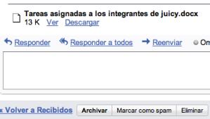 Gmail añade un visualizador de documentos de Word