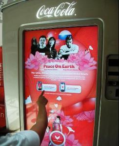 Máquinas de refresco con pantalla táctil