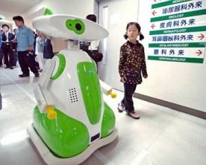 El primer hospital con robots