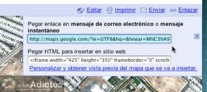 Como activar acortador de enlaces de Google Maps