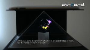 Proyectan 3D sin usar lentes pero si un iPad
