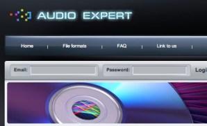 Convertir audio online con Audio Expert