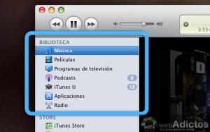 Personaliza lo que te enseña iTunes