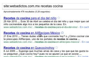 Tips de búsqueda con Google: Busca dentro de un sitio