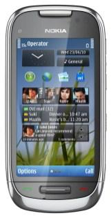 Nokia E7, Nokia C6 y Nokia C7 - Nokia-C7-05