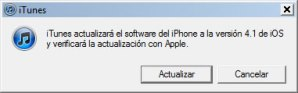 iOS 4.1 disponible para descargar