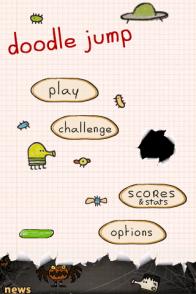 Doodle Jump, juego para iPhone y iPod Touch - IMG_0026