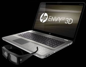 HP Envy 17 laptop 3D