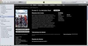 Renta y Venta de Películas en la iTunes Store de México