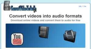 Convertir videos a audio con Convert Video to Audio