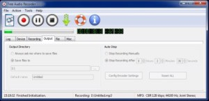 Free Audio Recorder, graba audio desde múltiples entradas