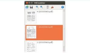 PDFJumbler edita fácilmente tus PDFs