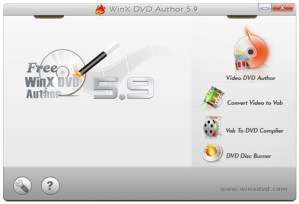 Grabar videos para ver en DVD con WinX DVD Author