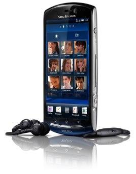 Sony Ericsson Xperia Neo - Xperia-neo-frente-negro-audifonos