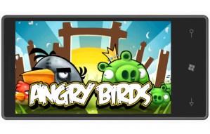 Angry Birds llegará a Windows Phone 7