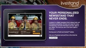 Yahoo anuncia Livestand para tablets - livestand-yahoo-ipad