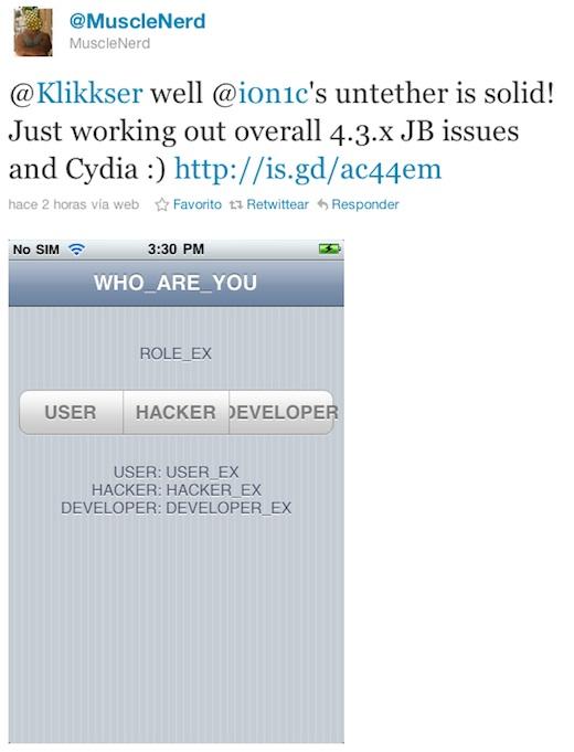 Jailbreak untethered para iOS 4.3.1 a punto de ser lanzado - Jailbreak-para-ios-4.3.1