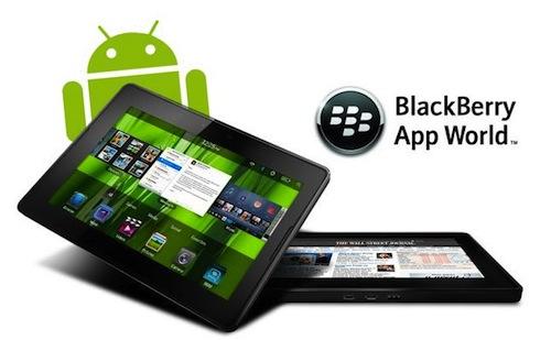 blackberry android Aplicaciones de Android podrán ejecutarse en la PlayBook de RIM