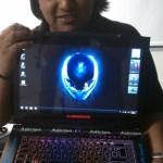 Experiencias en el Encuentro Nacional de Linux y Software Libre 2011 - enli-2011-alienware-webadictos